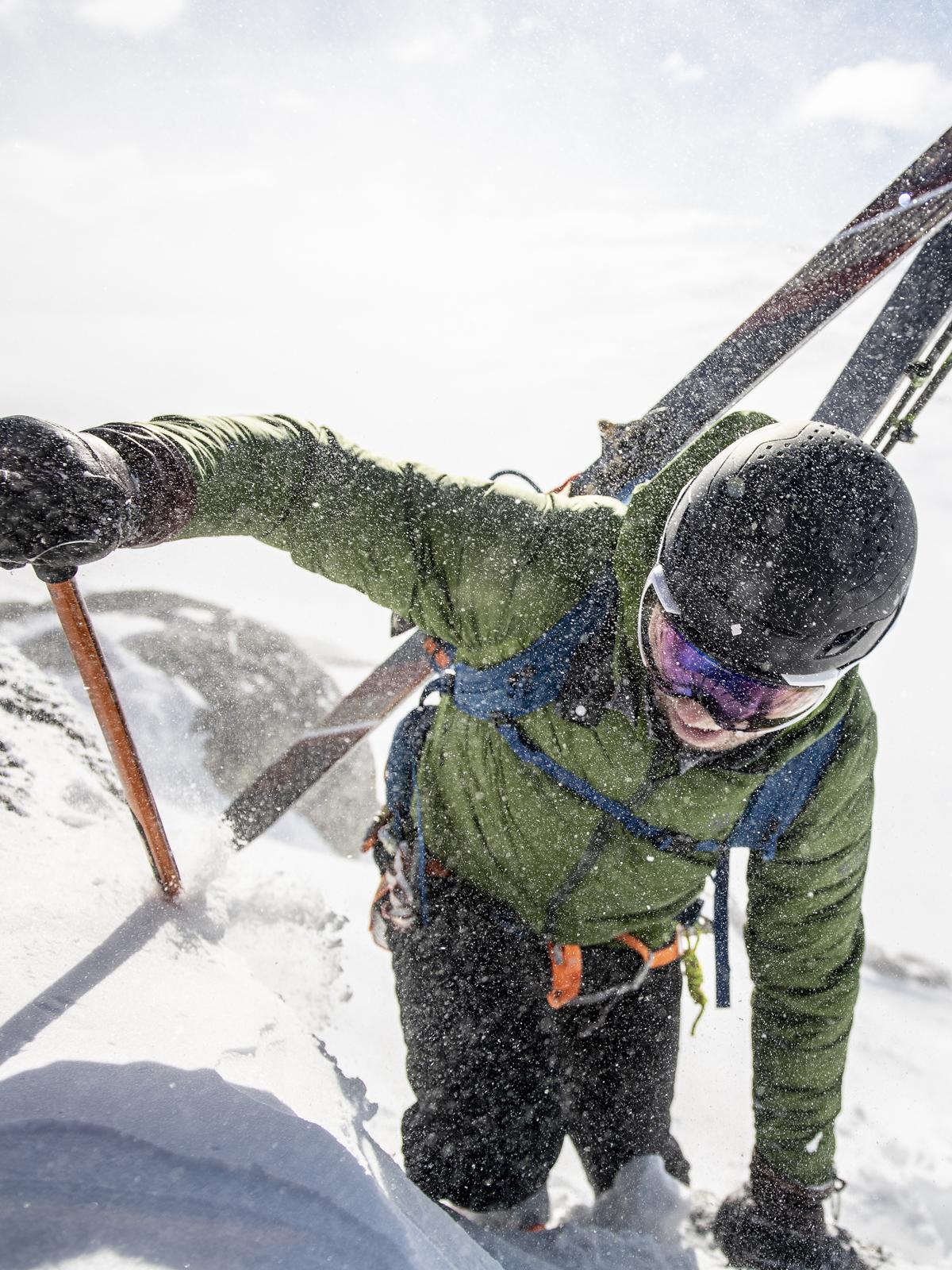 Ascender ski-mountaineering helmet
